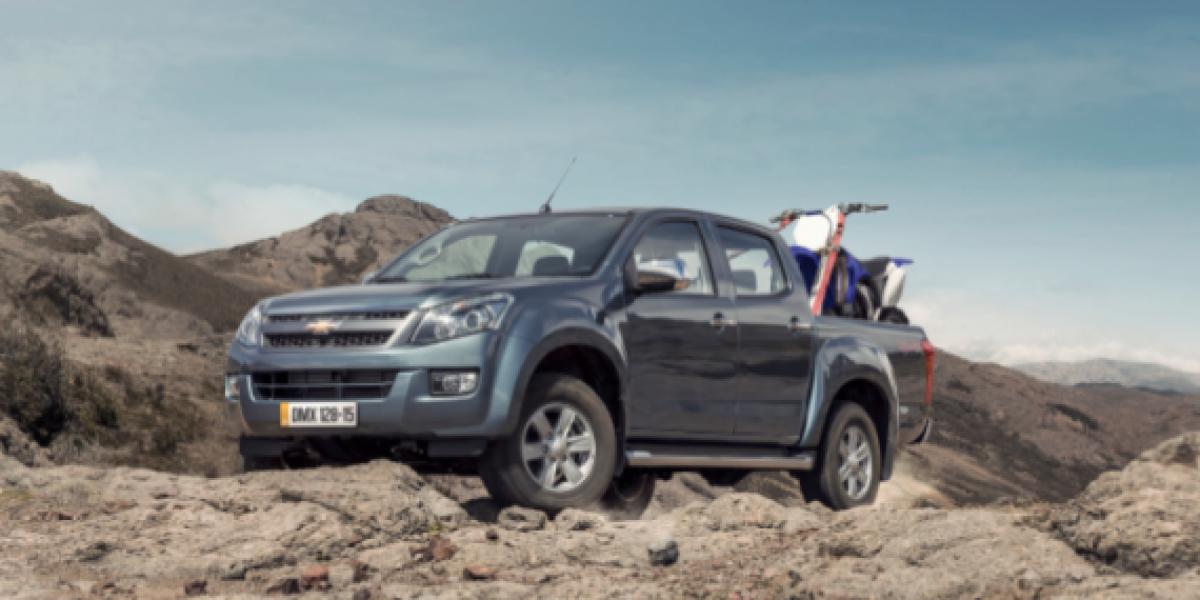 Llega a Chile la nueva Chevrolet D-Max 2015