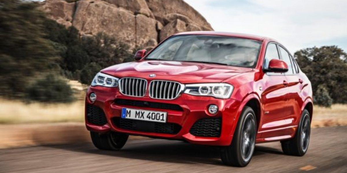 Llega a Chile nuevo BMW X4