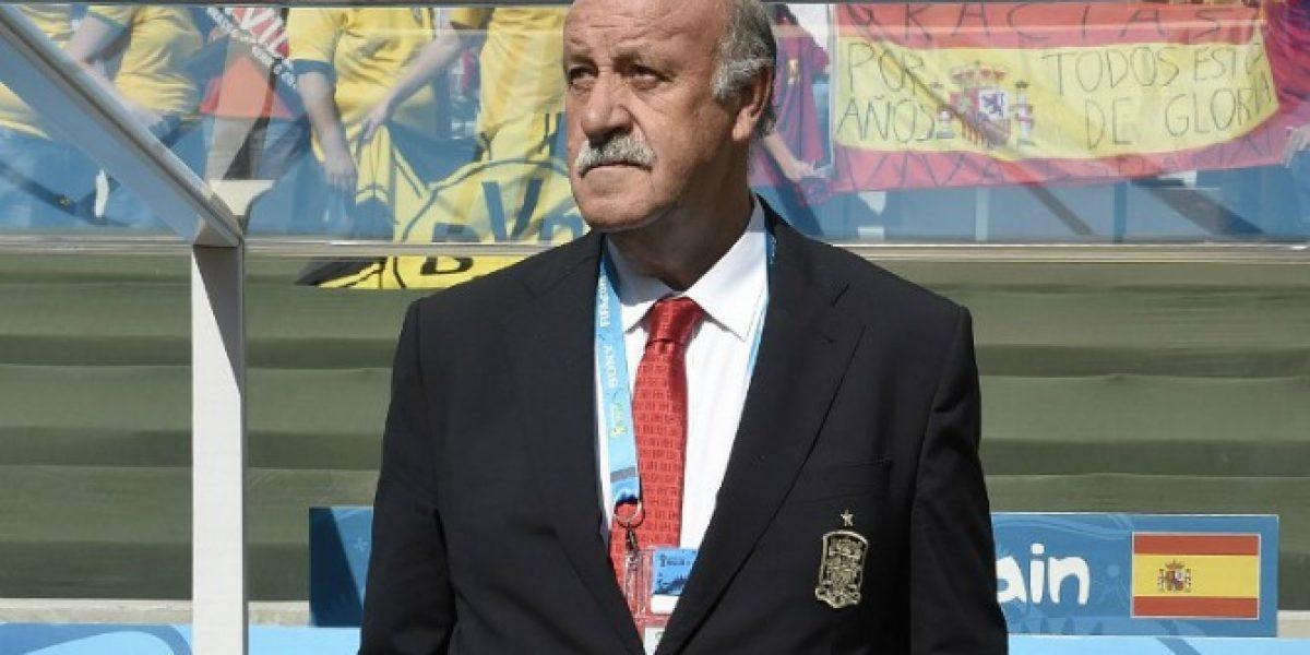 Vicente del Bosque entregó nómina de España con varias novedades