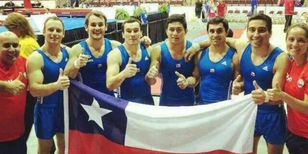 Gimnasia: Chile logra histórica clasificación por equipos a los Juegos Panamericanos 2015