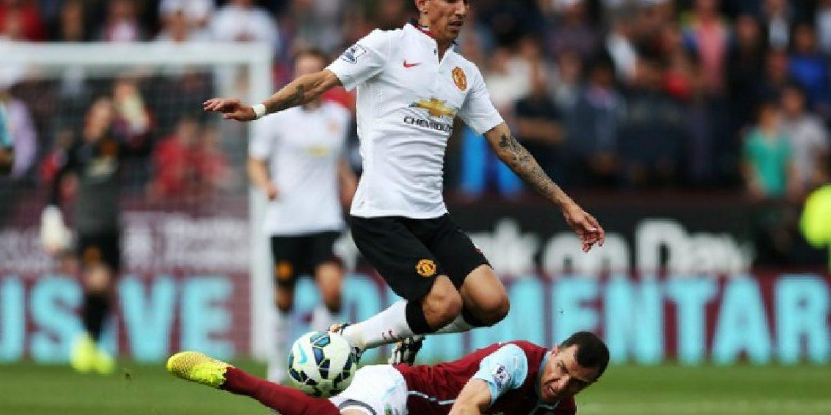 No encuentra el rumbo: Manchester United empató sin goles en el debut de Di María