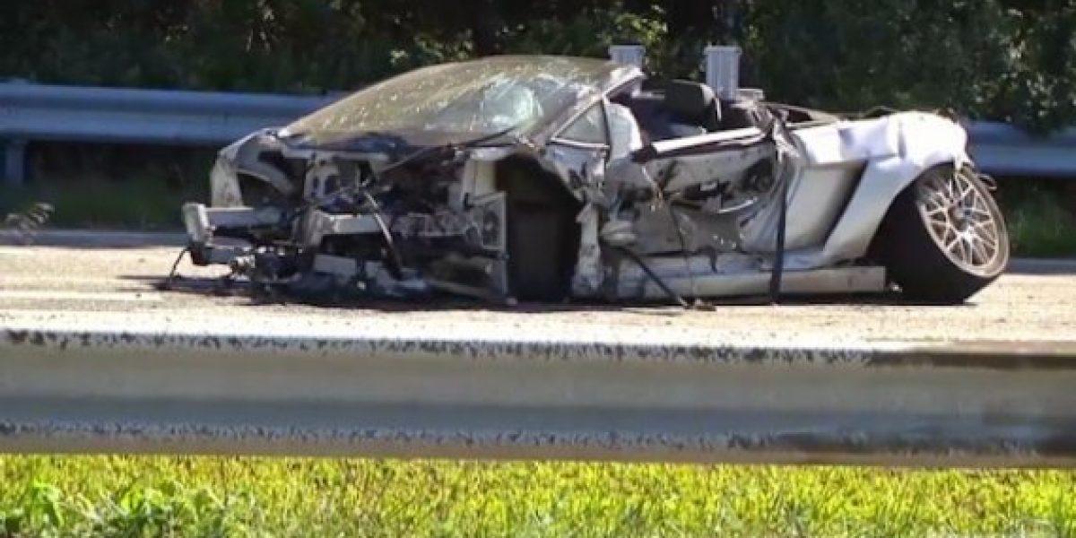 Joven muere en test-drive de Lamborghini Gallardo