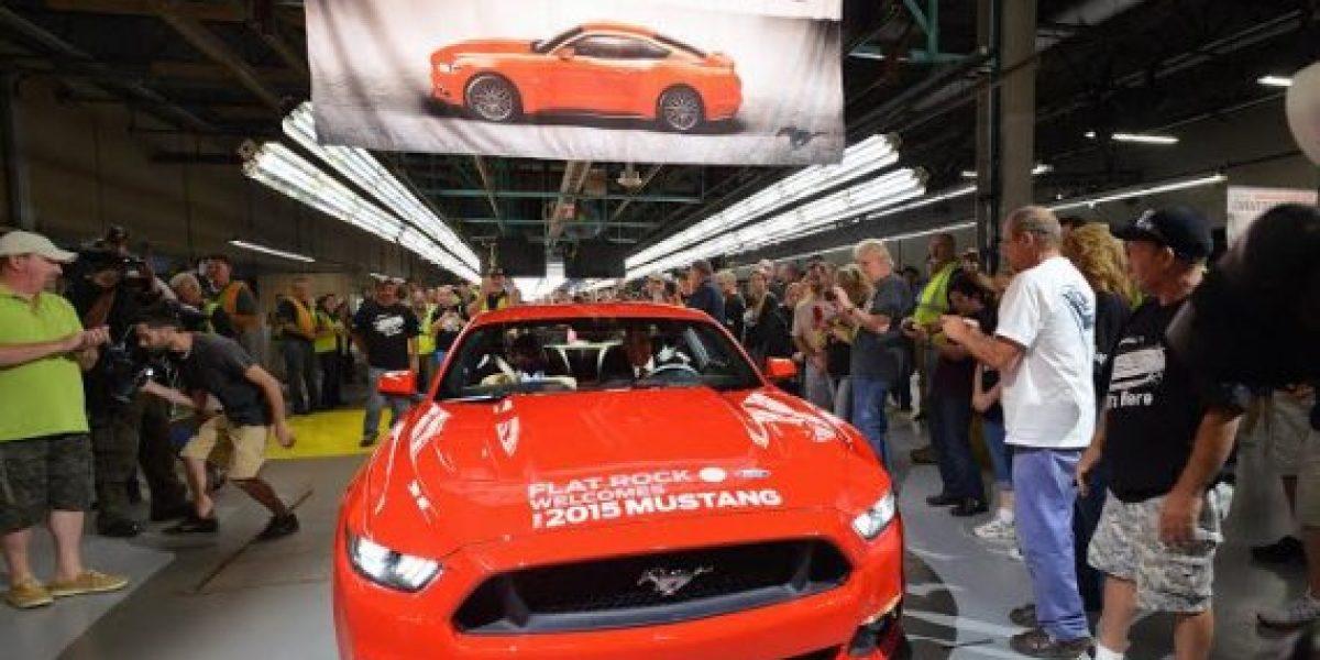 Se inició la producción del nuevo Ford Mustang