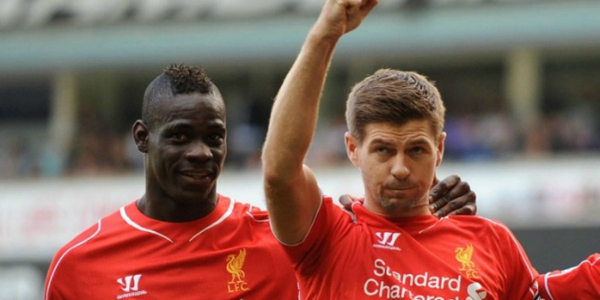 Con goleada frente a Tottenham debutó Mario Balotelli en Liverpool