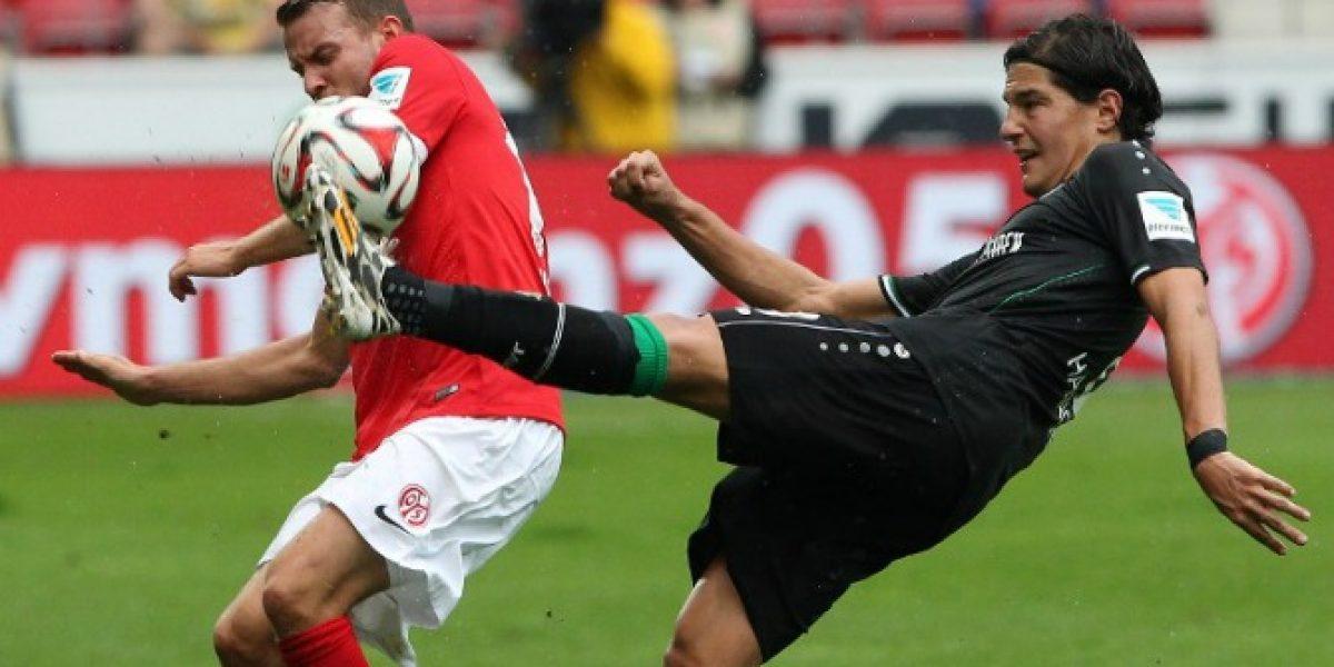 Duelo de chilenos en Alemania terminó igualado sin goles