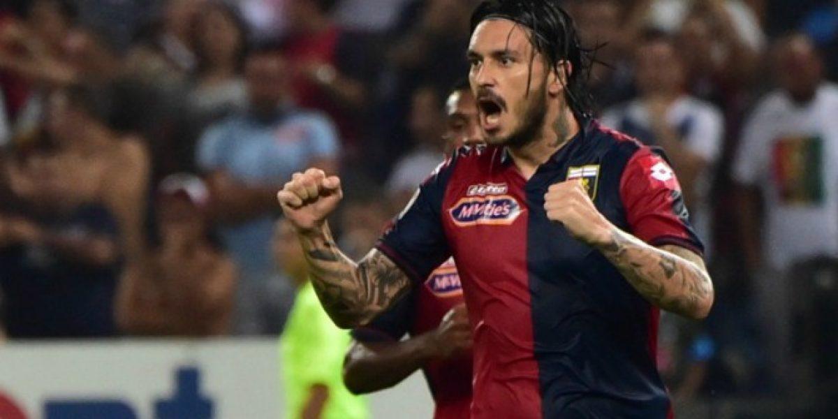 Video: Mauricio Pinilla anotó pero no pudo evitar la derrota de Genoa ante Nápoli