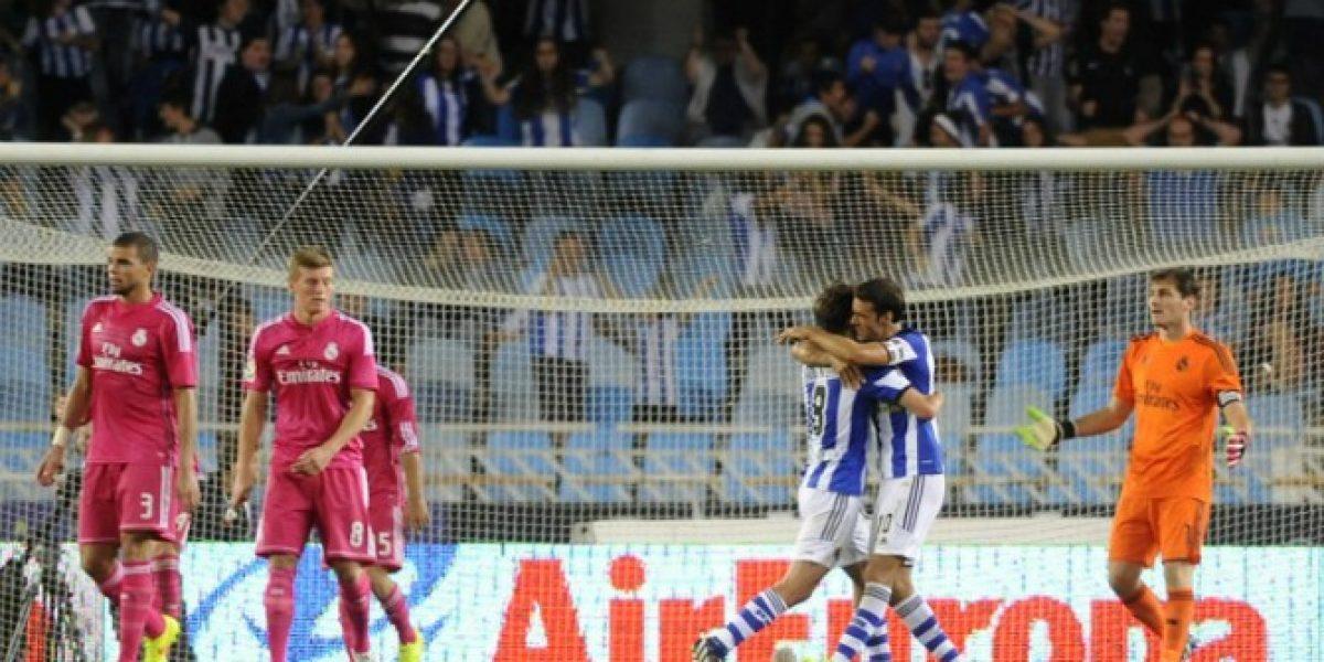 ¿Camiseta mufa? Real Madrid sufrió duro revés como visitante frente a Real Sociedad