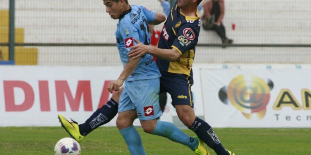Francisco Castro le devolvió la alegría a Iquique frente a Barnechea en el último minuto