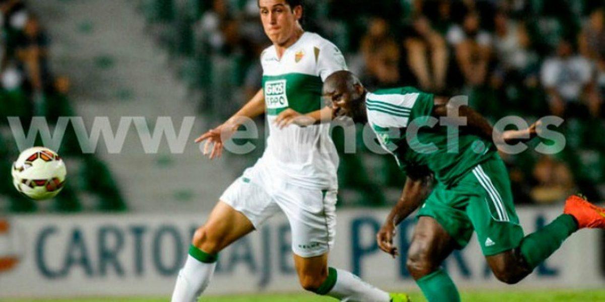 Enzo Roco tuvo buen debut en el empate de Elche con Granada de Iturra