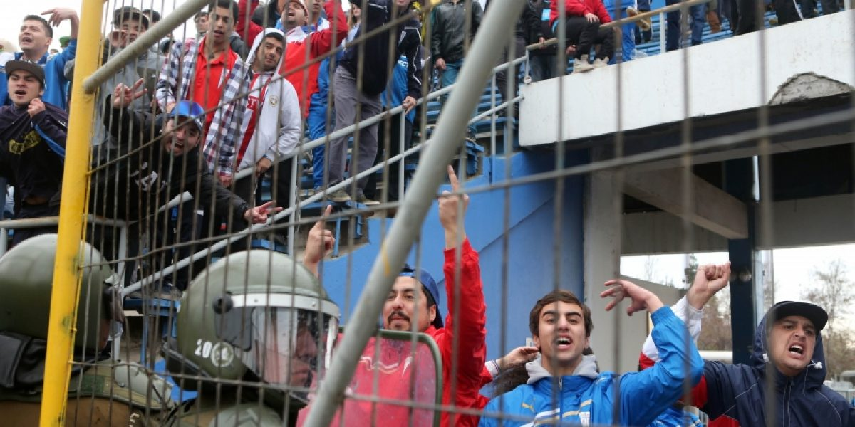 Con golpes, heridos y detenidos finalizó el partido entre la UC y O