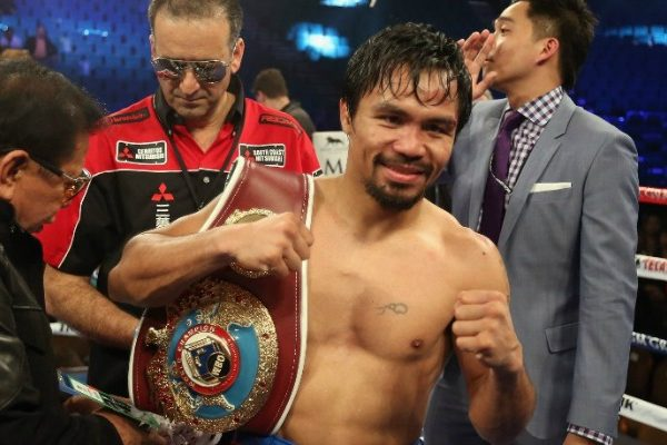 Se Armo Manny Pacquiao Desafio A Combate A Floyd Mayweather