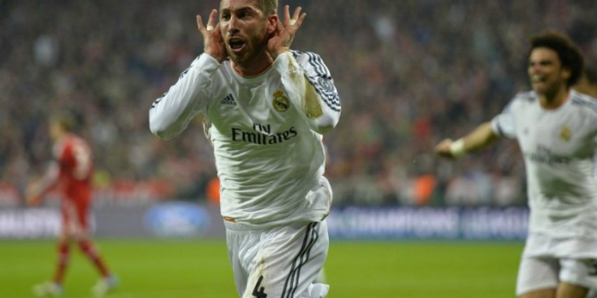 Video: Sergio Ramos se une a los hinchas del Real y le dedica una canción al Atlético