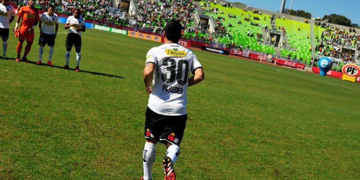 Esteban Paredes anunció que hará todo para estar en el partido ante Ñublense