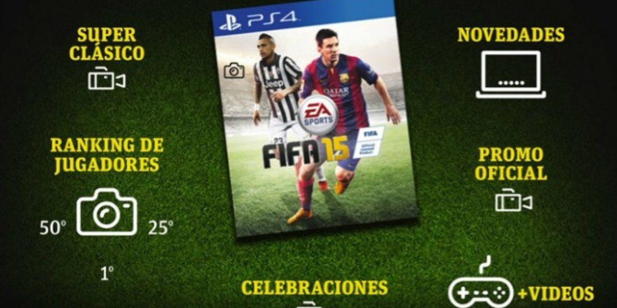 Imperdible: infografía interactiva con todos los detalles del nuevo FIFA 15