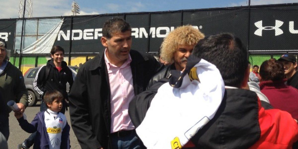 El Pibe Valderrama revolucionó el Estadio Monumental