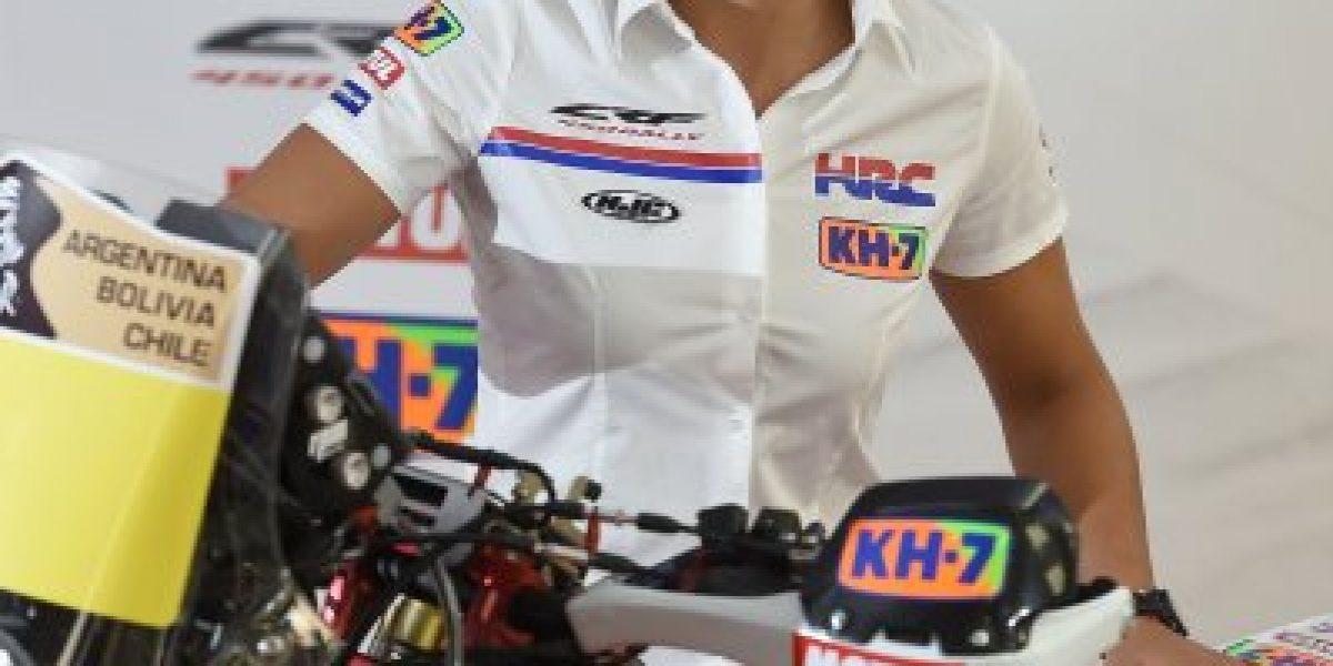 Jeremías Israel correrá el Dakar 2015 en el equipo oficial de Honda Racing
