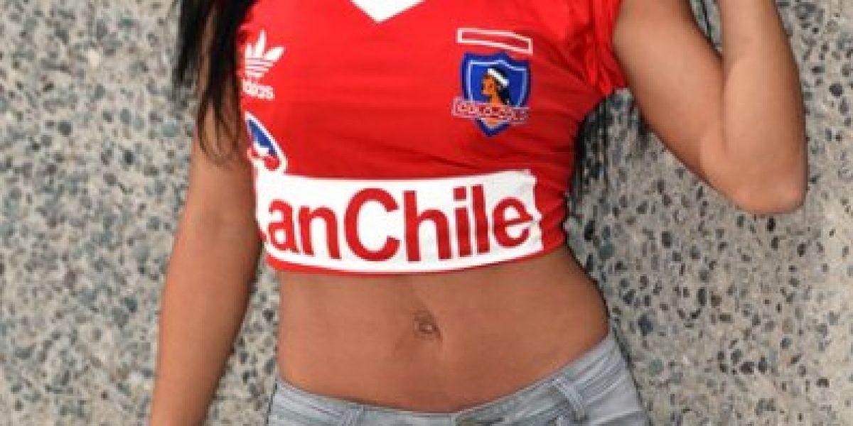 La guapa Jocelyn Medina apuesta todo por un nuevo título de Colo Colo