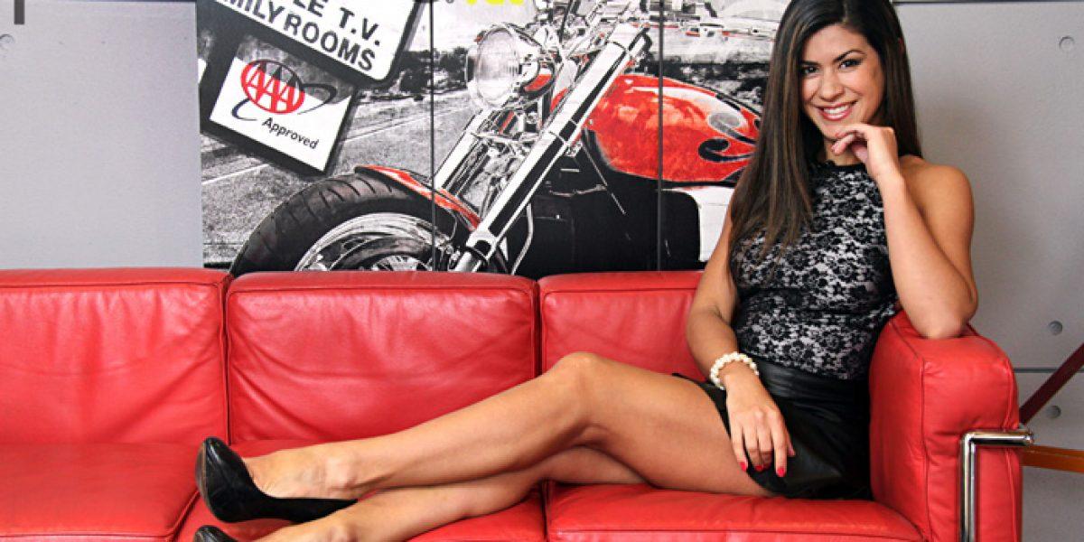 Vivi Rodrigues posa para Publimetro ad portas de estrenar su programa