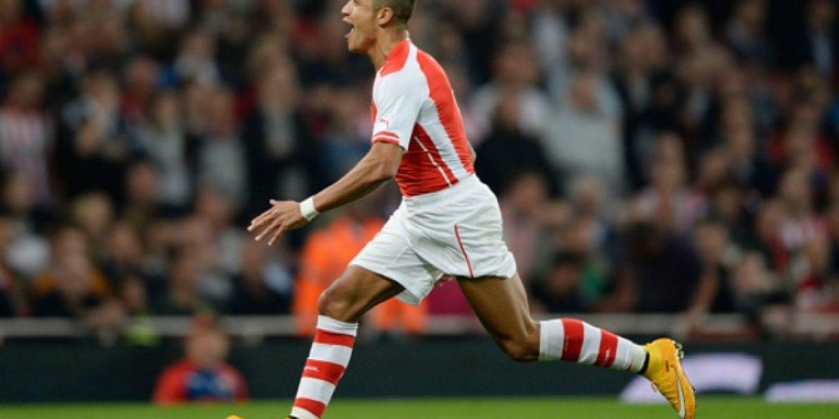 En Arsenal destacan la intensidad de Alexis: