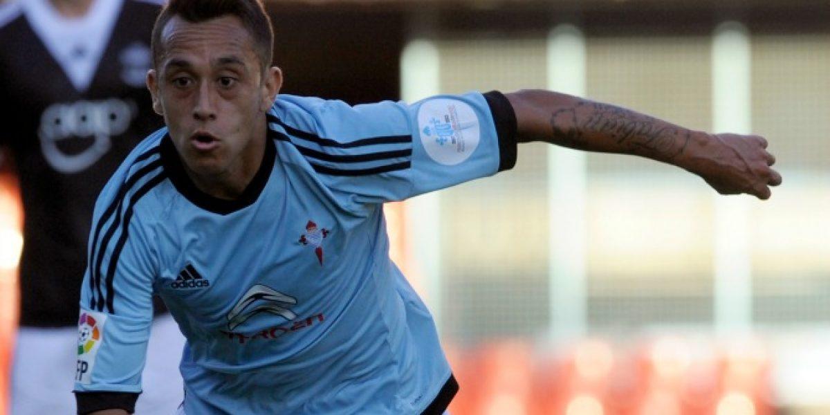 Celta de Vigo se quedó en el último minuto con el choque de chilenos ante Elche