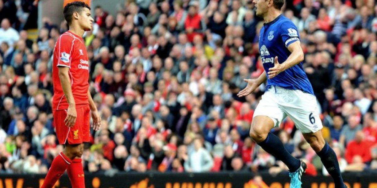 Video: Los golazos marcaron el empate en el derby entre Liverpool y Everton