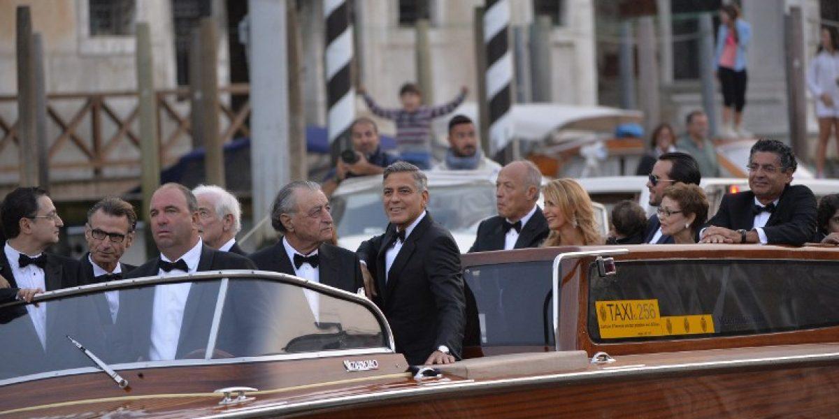 ¡Adiós soltería! George Clooney y Amal Alamuddin se casaron en una ceremonia privada