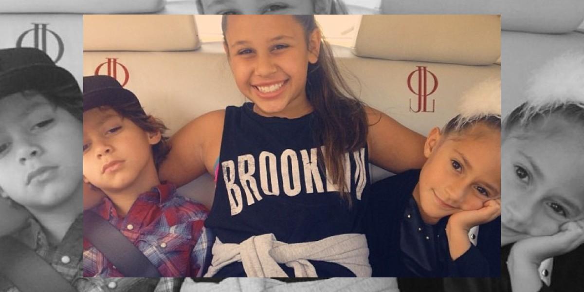 FOTO: Emme, hija de JLo, compartió dulce momento con Demi Lovato