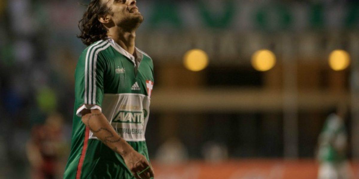 Palmeiras prepara apelación para evitar dura sanción a Valdivia