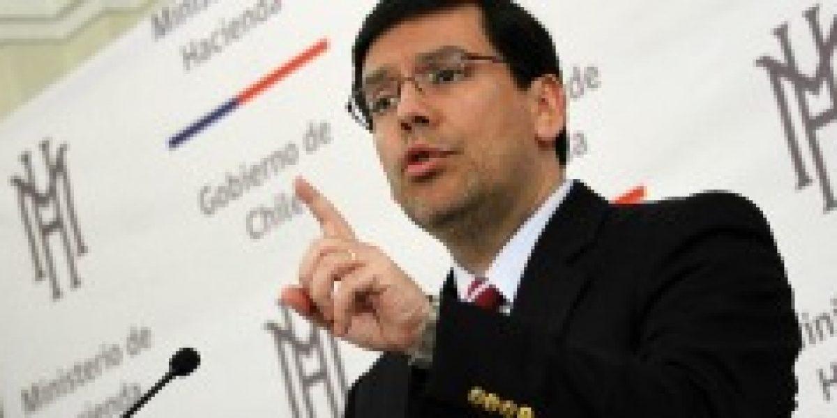 """Ministro Arenas: """"El momento económico amerita una política fiscal expansiva que sea claramente contracíclica"""""""