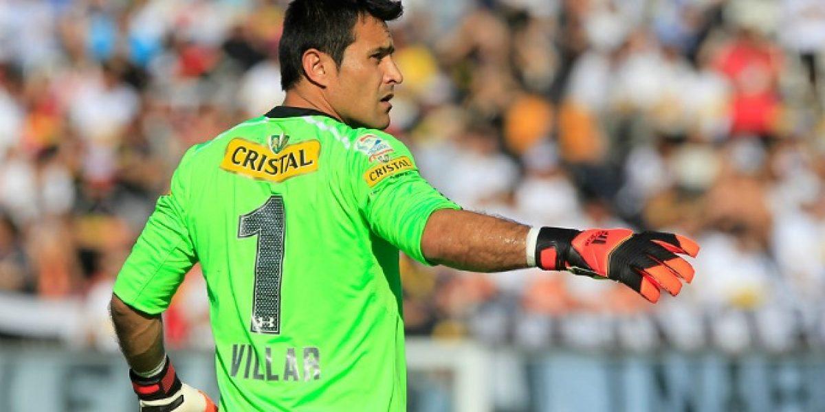 Justo Villar reconoce que la U tiene un plantel más avezado que el de Colo Colo