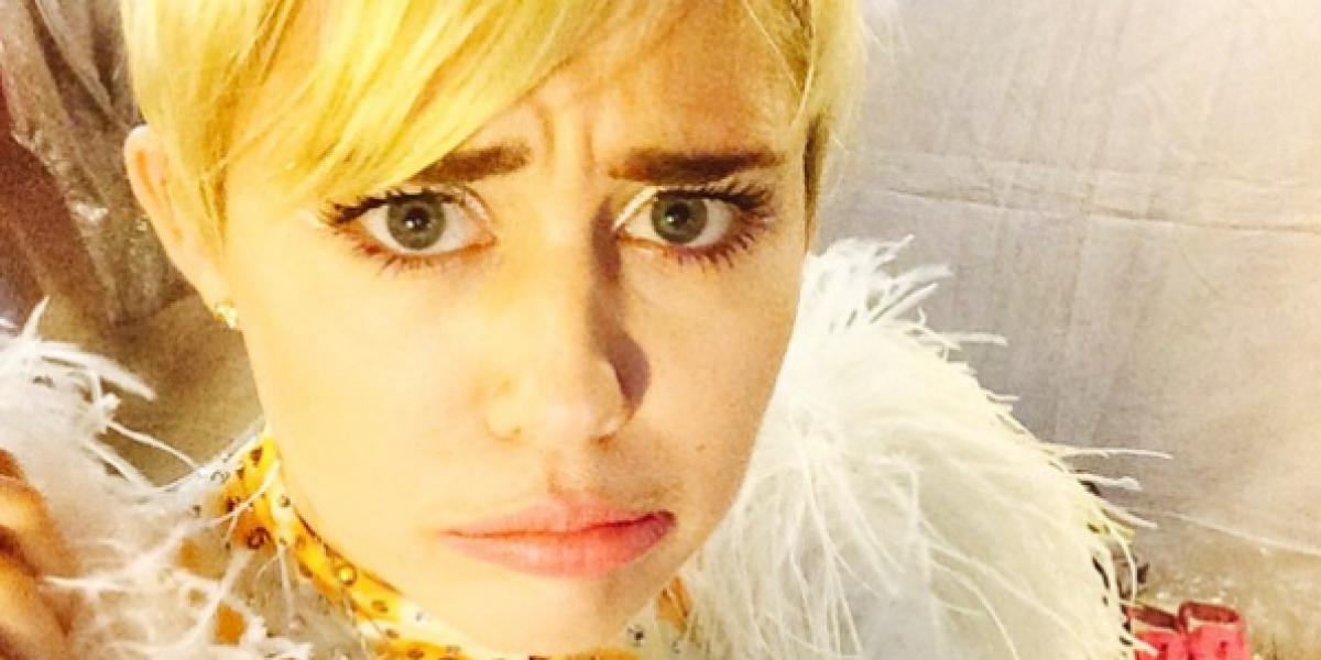 La primera foto de Miley Cyrus en Chile a días de su concierto