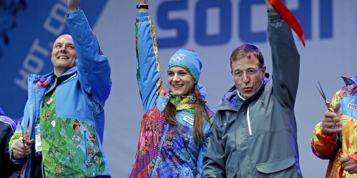La bella Yelena Isinbayeva quiere una tercera medalla de oro olímpica en Brasil 2016