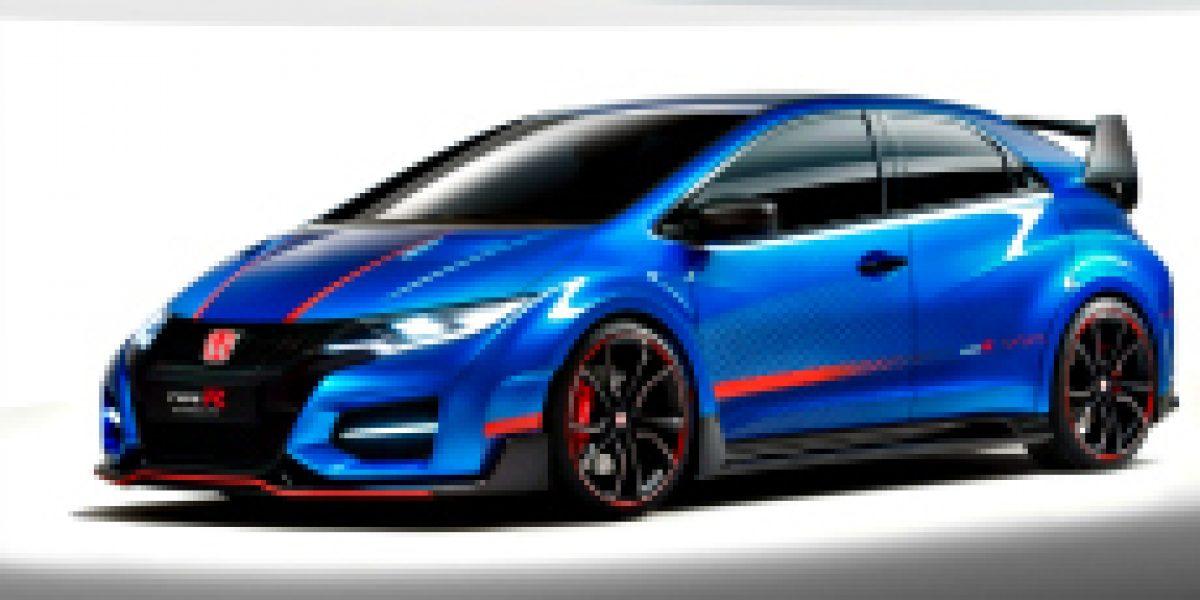 GALERÍA:Así es el Honda Civic Type R Concept II