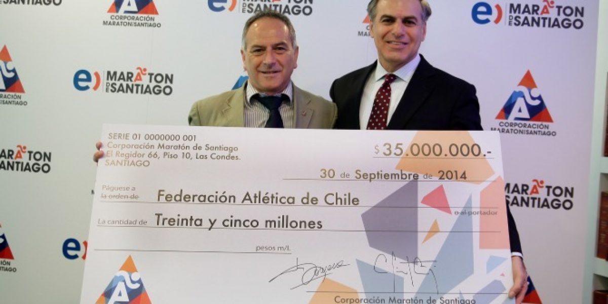 Maratón de Santiago creará una