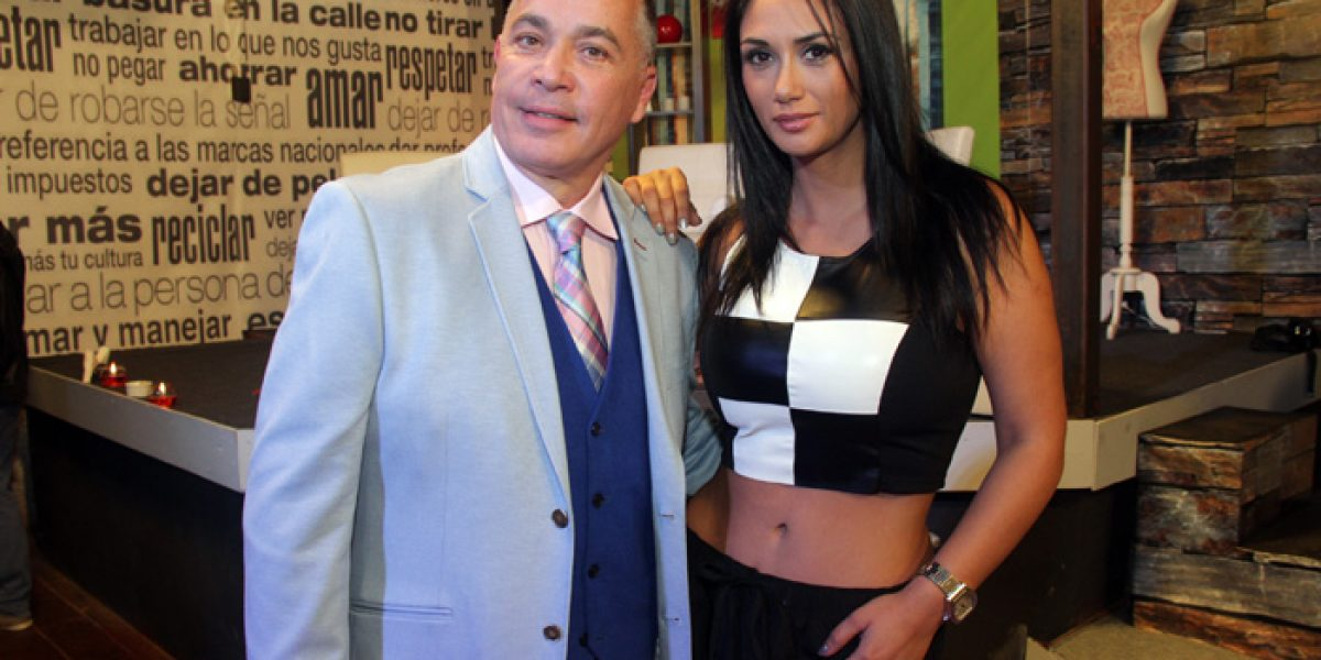 Pamela Díaz mostró su mejor look en su nuevo programa de TV