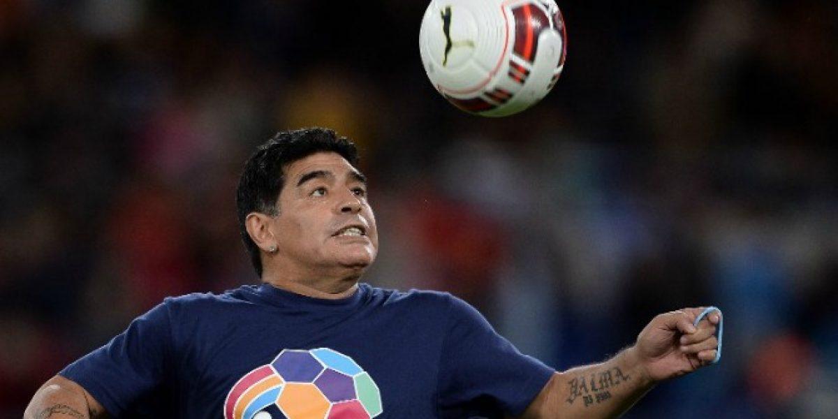 En Palestina descartan a Maradona como DT de su selección