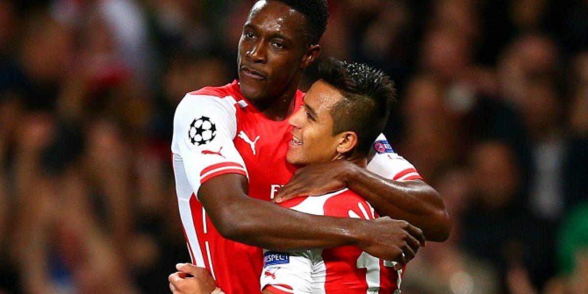 Video: La espectacular asistencia de gol que Alexis se mandó ante Galatasaray