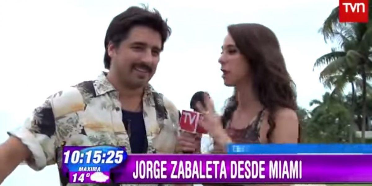 Jorge Zabaleta sorprende con nuevo look