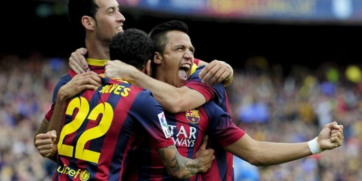 Tras el paso de Alexis: Barça es el equipo extranjero que más apasiona a los chilenos