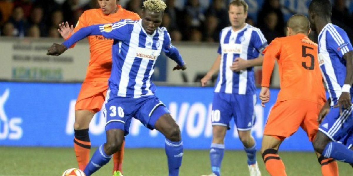 Europa League: Gato Silva celebró, mientras que Henríquez vio la derrota