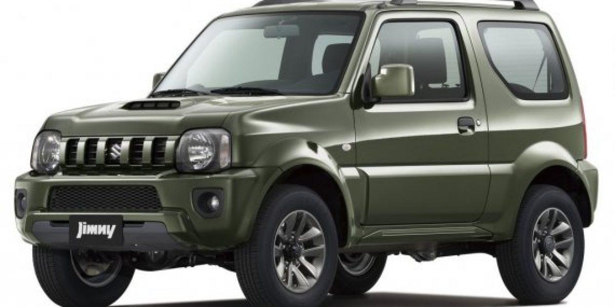 ACTUALIZACIÓN:Así sería el Suzuki Jimny 2015