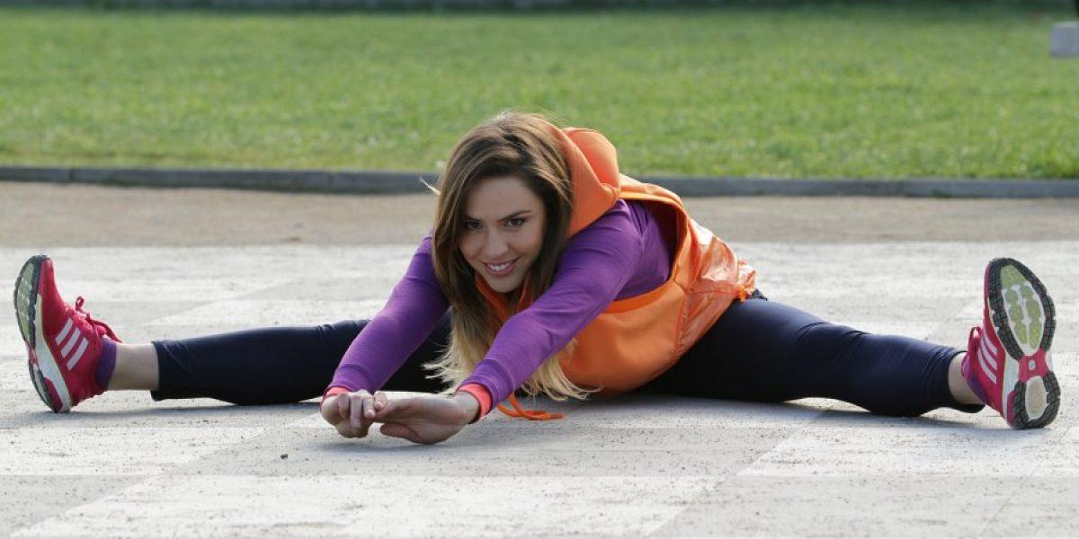 La bella Vale Ortega, una amante del running