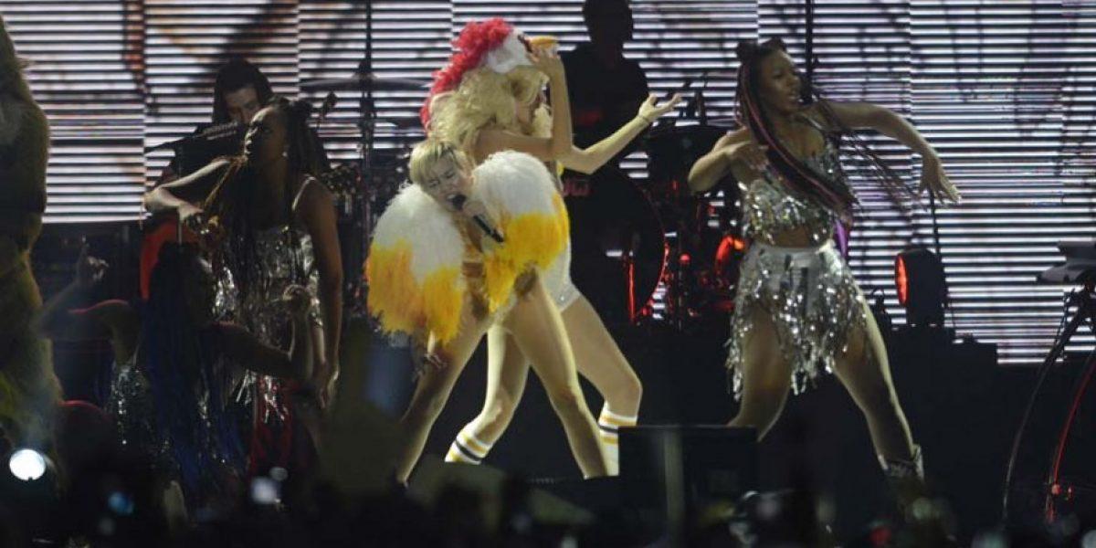 Miley Cyrus en Chile: Revisa sus mejores imágenes