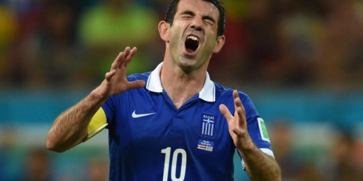 El héroe helénico le dice adiós al fútbol después de una extensa carrera