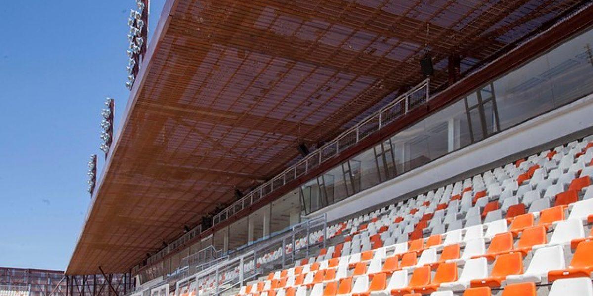 Una Joya... así luce el remozado estadio de Calama antes de su inauguración
