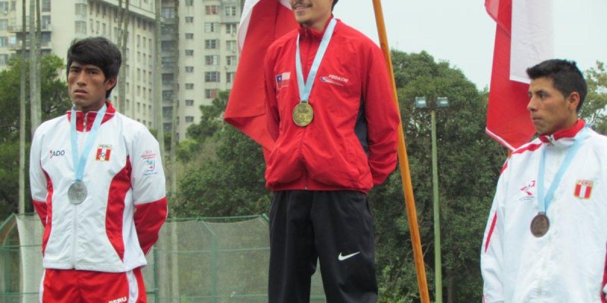 Matías Silva, Enrique Polanco y Álvaro Cortez suman medallas en Sudamericano Sub 23 de Atletismo