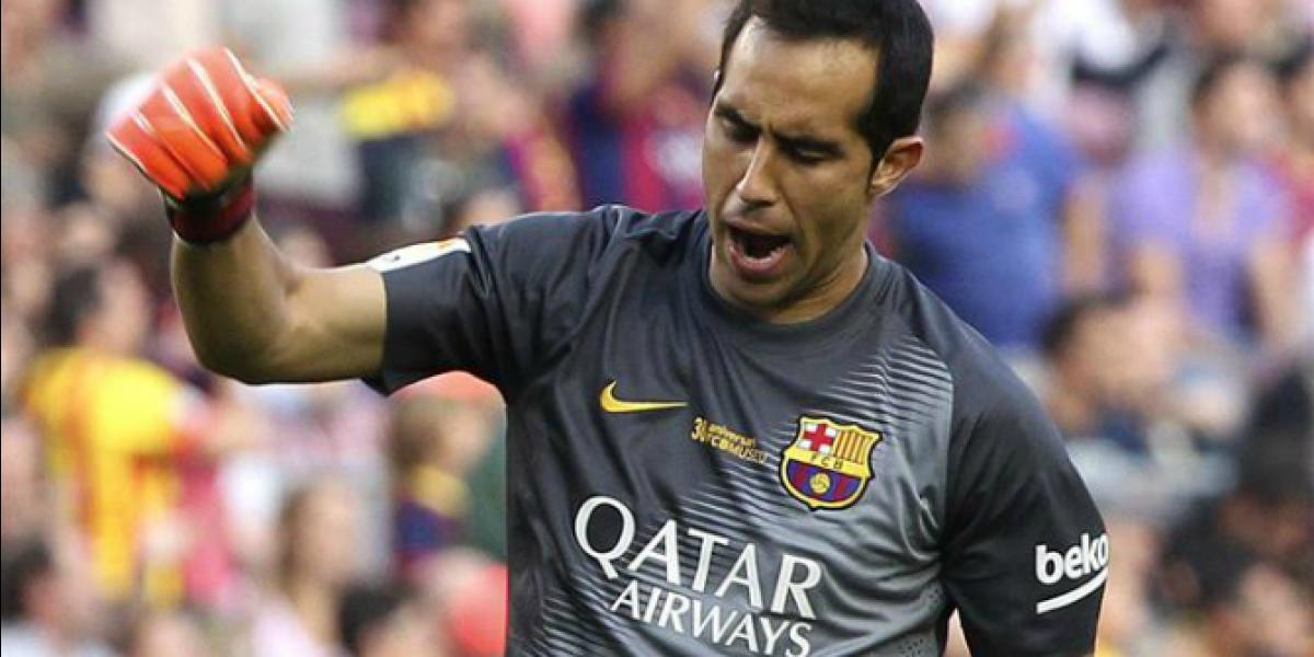 Claudio Bravo rompió récord de imbatibilidad en España con Barcelona