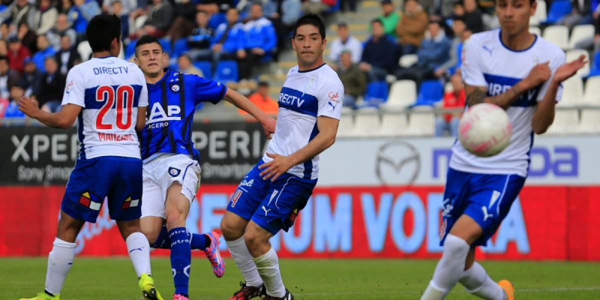 Galería: Así fue la jugada del gol de Sagal para Huachipato