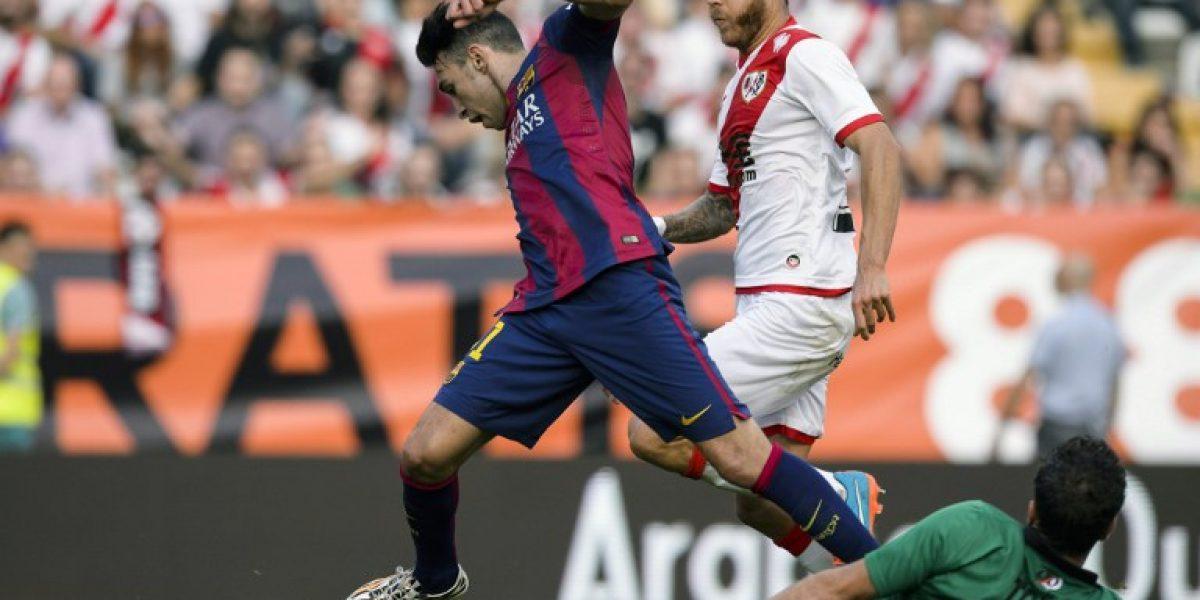 Barcelona vence a Rayo Vallecano y es el líder de la Liga española