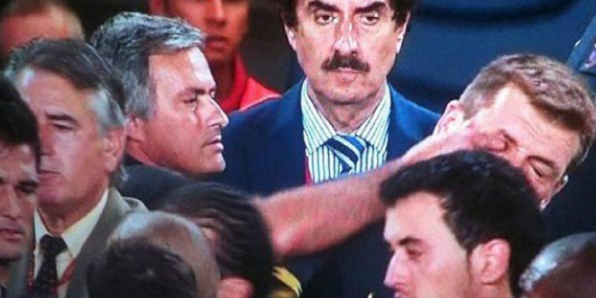 Videos: Los otros encontrones de Jose Mourinho en cancha